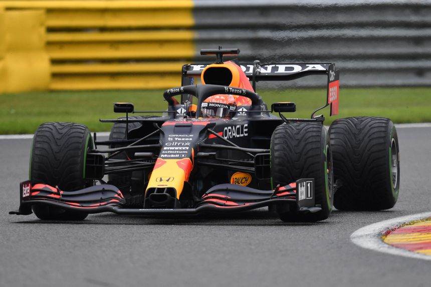 F1: Verstappen masters rain to claim Belgian Grand Prix pole, Russell in second