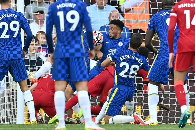 Tuchel praises 10-man Chelsea's response as 'world turned upside down' at Liverpool
