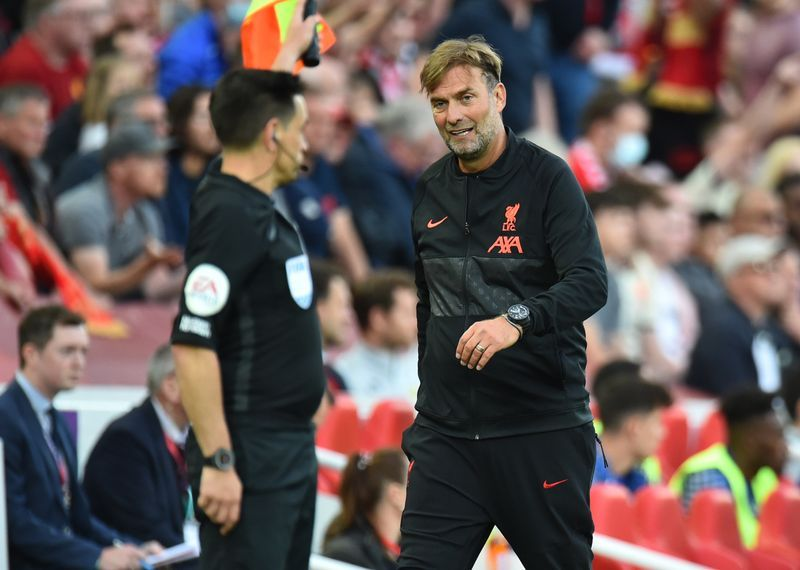 Soccer-Klopp questions 'double punishment' after Chelsea see red