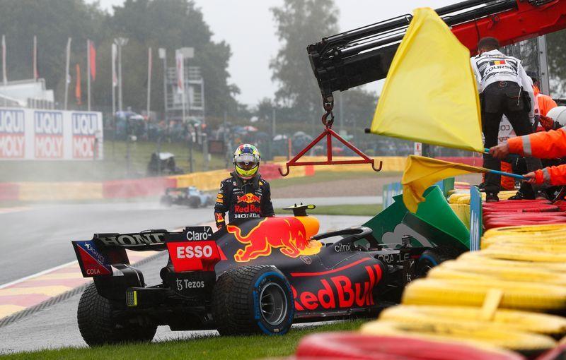 Motor racing-Rain forces suspension of Belgian Grand Prix start