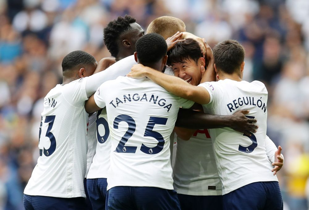 Son shines as Spurs go top of Premier League, Greenwood fires Man United