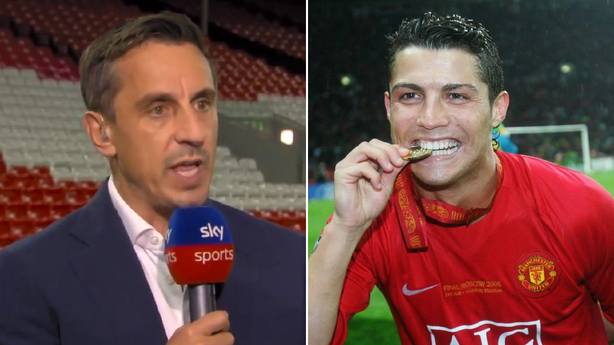 'There's a big chance!' – Gary Neville makes Manchester United title prediction after Cristiano Ronaldo signing
