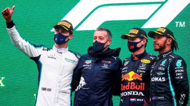 Verstappen declared winner of rain-ruined Belgian GP