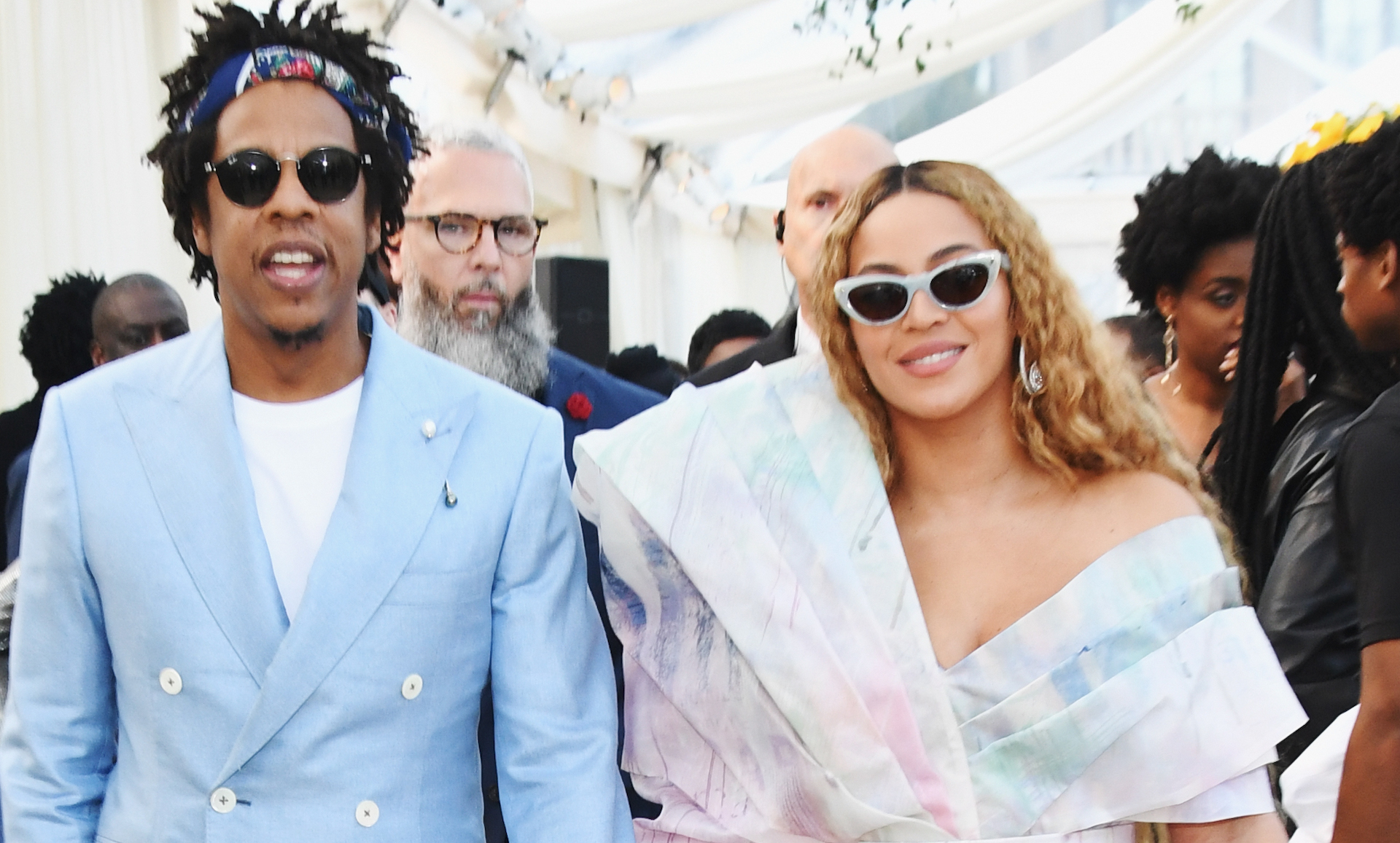 Jay-Z Reveals What It's Like Collaborating With 'Inspiring' Wife Beyoncé at 40/40 Club Anniversary