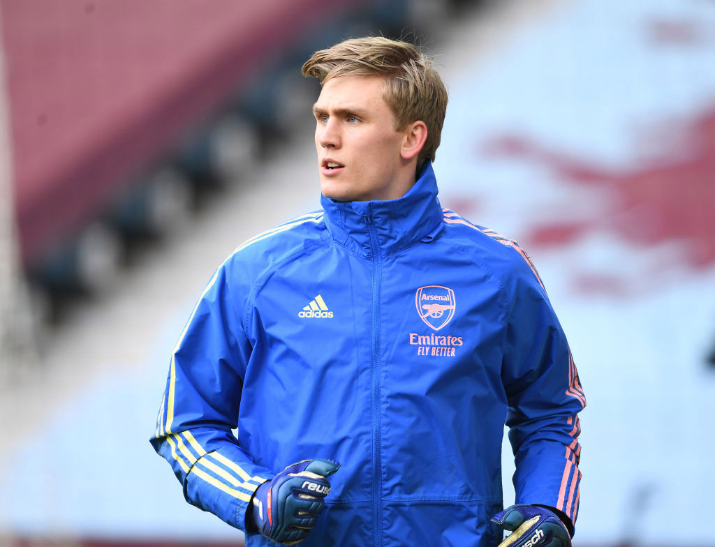 Mikel Arteta gives greenlight for Arsenal to offload flop Alex Runarsson before deadline