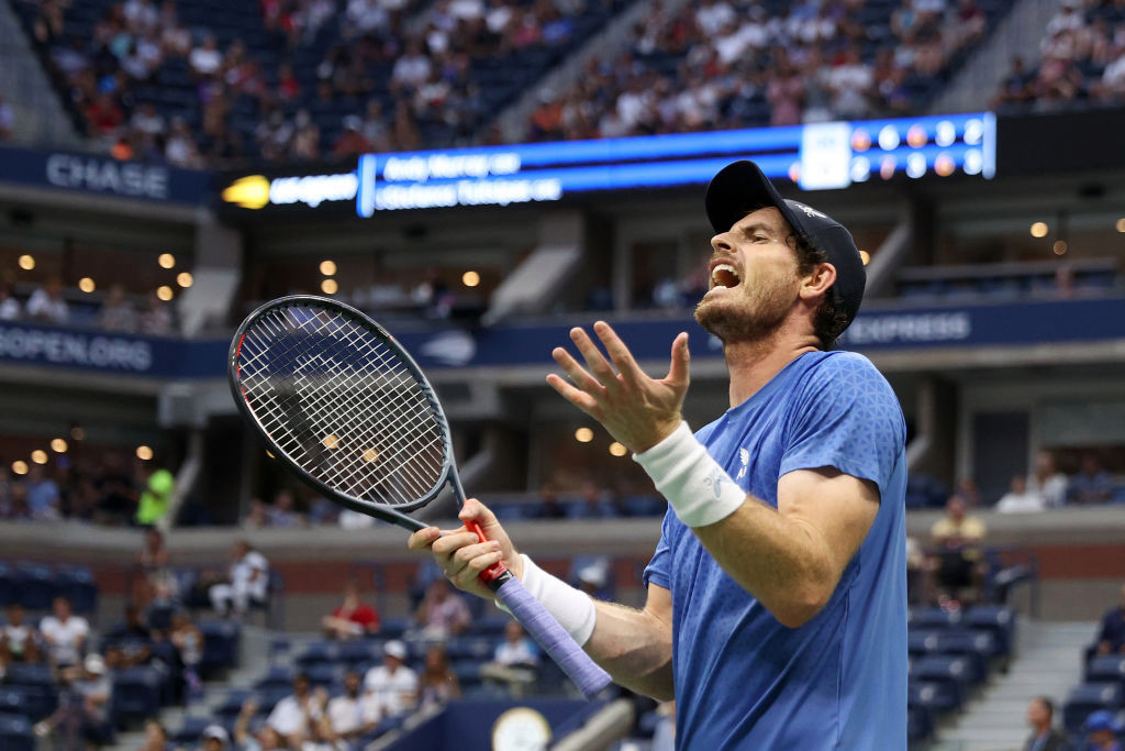 Andy Murray takes swipe at Stefanos Tsitsipas's eight-minute toilet break after US Open loss