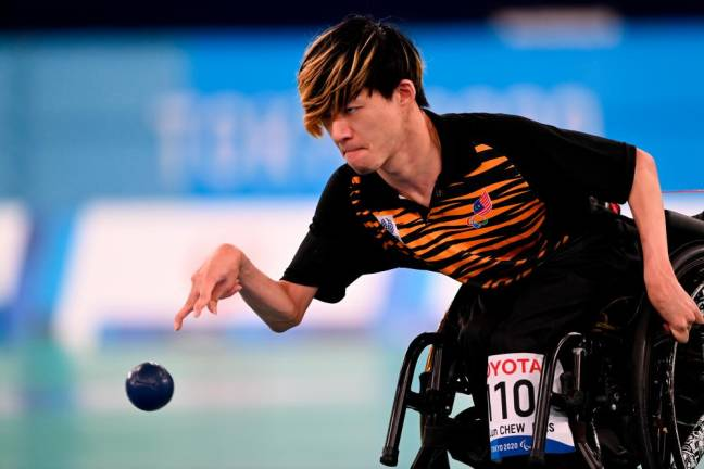 Wei Lun accomplishes mission to promote boccia to Malaysians