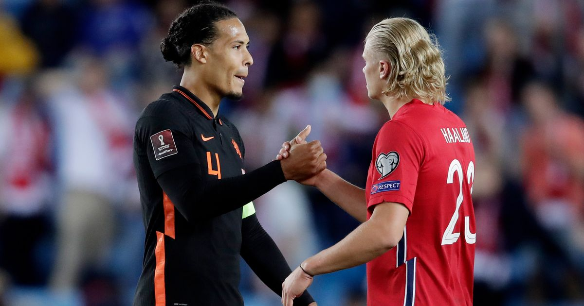 Erling Haaland proved a good test for Virgil van Dijk, and they could end up Liverpool teammates