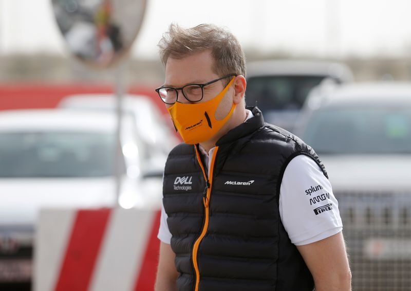 Motor racing-McLaren boss would support points for qualifying if no race