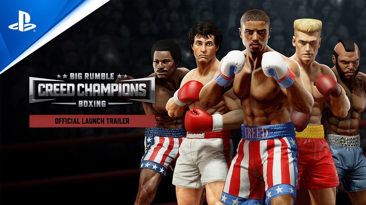 Big Rumble Boxing: Creed Champions - Launch Trailer | PS4