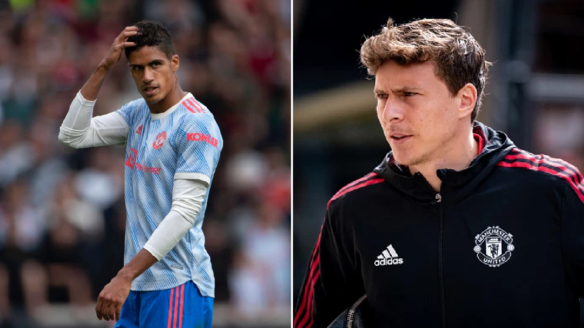 Victor Lindelof speaks out on competition for places at Manchester United after Raphael Varane signing