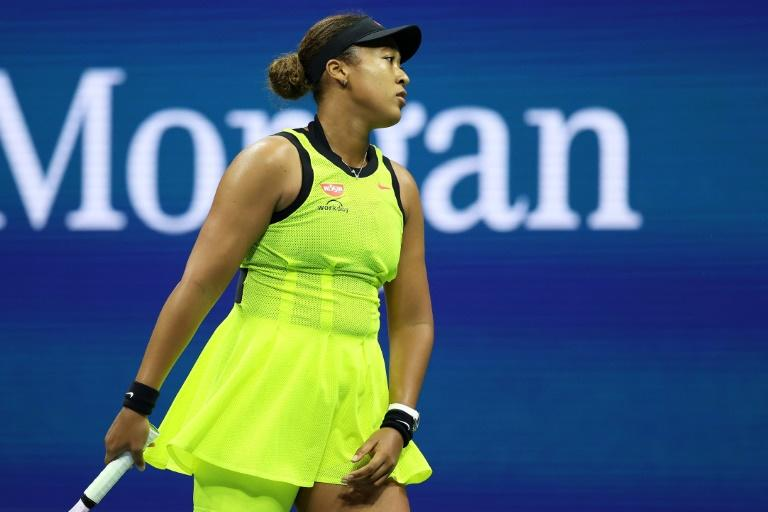 Tearful Osaka to take break from tennis after shock loss