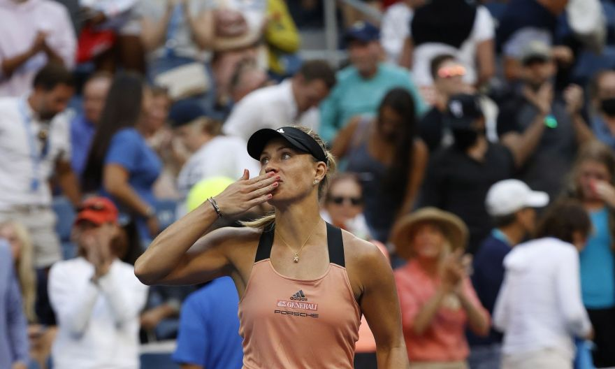 Tennis: Kerber defeats Stephens in the battle of the US Open champs