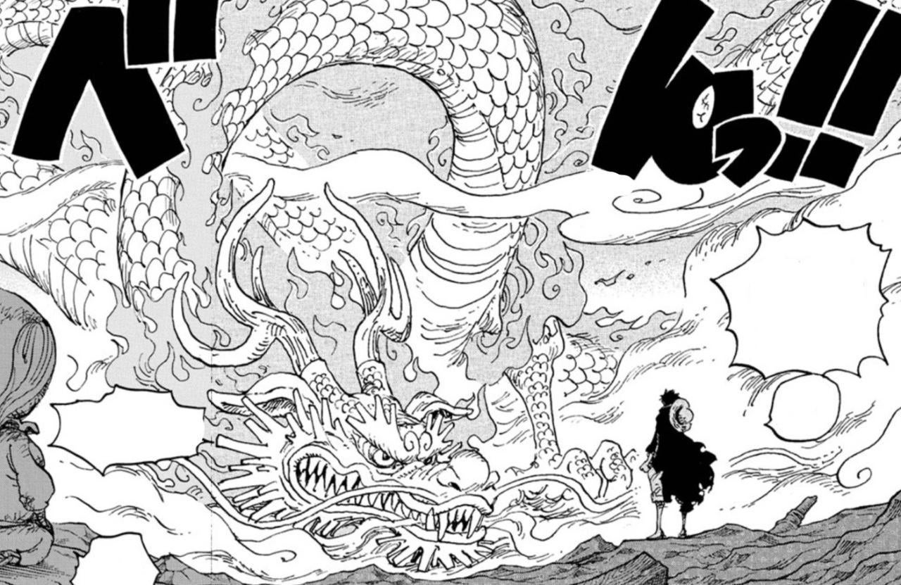 One Piece Introduces Momo's Full Dragon Form