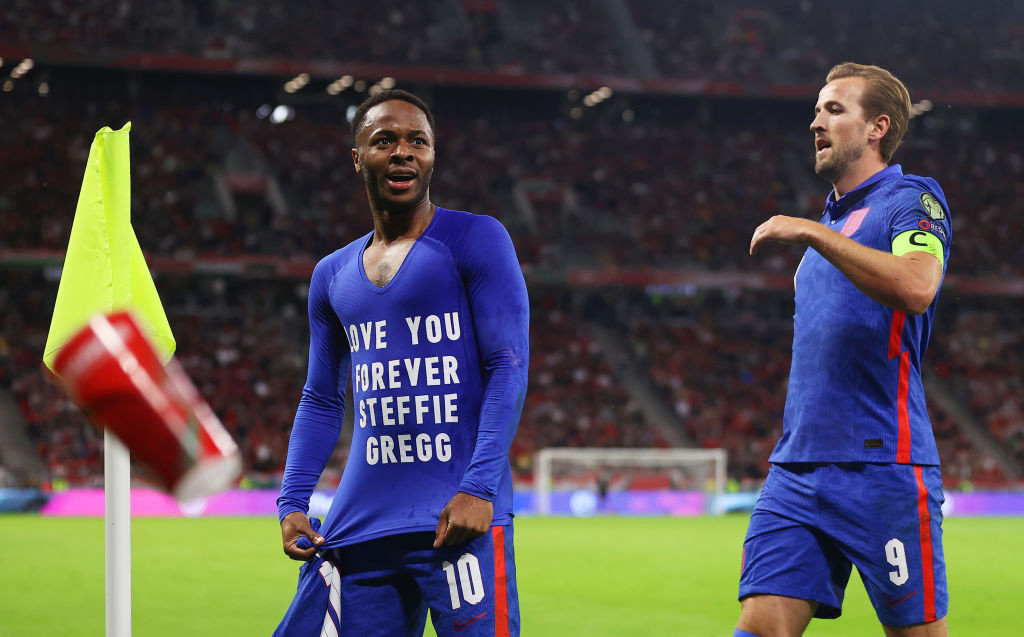Who is Steffie Gregg and why did Raheem Sterling wear her name on his shirt?