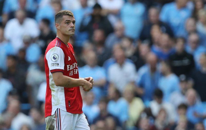 Soccer-'Get the jab': Mourinho urges Xhaka to get COVID-19 vaccine