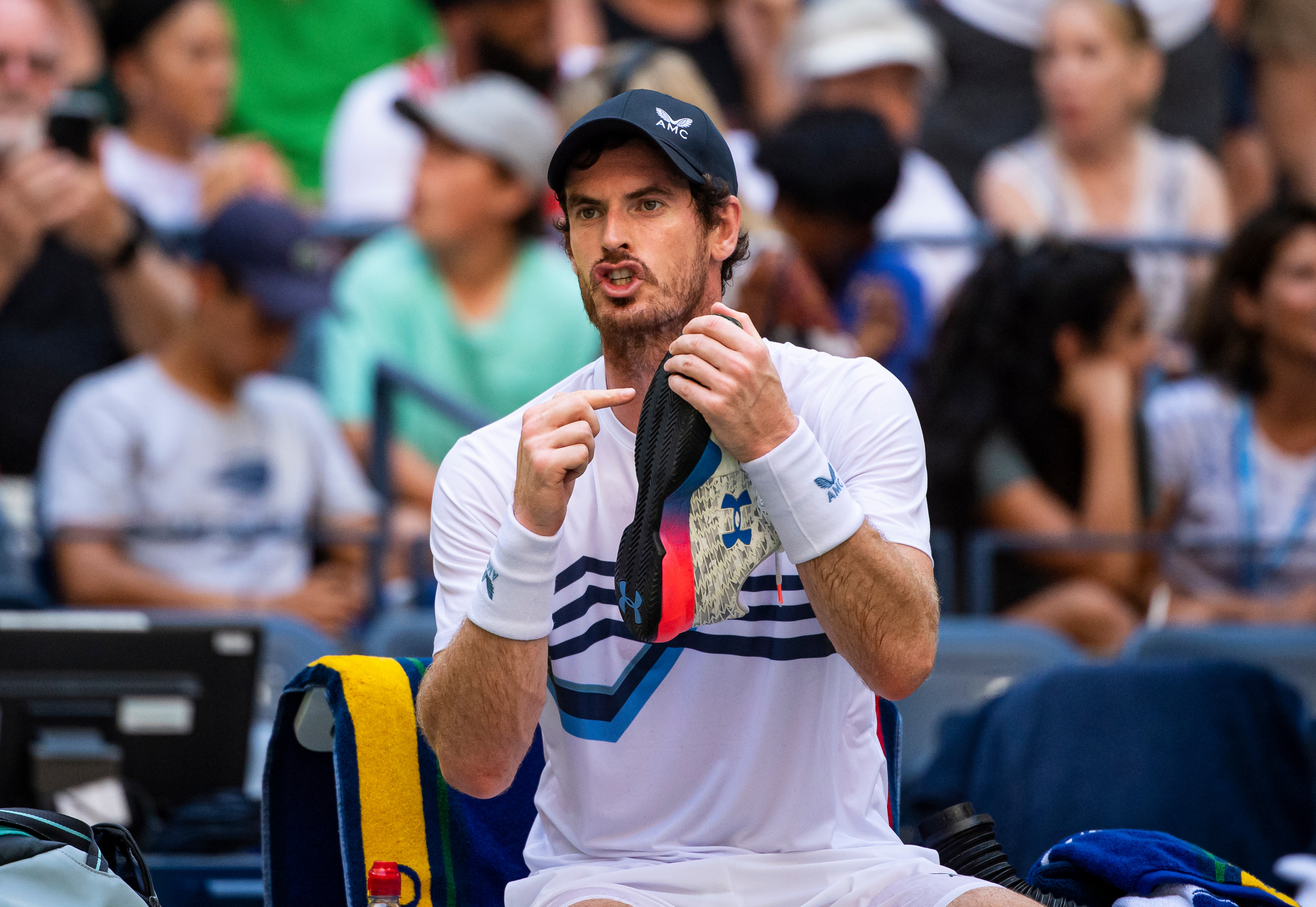 Andy Murray takes aim at Tsitsipas again as toilet break row rolls on