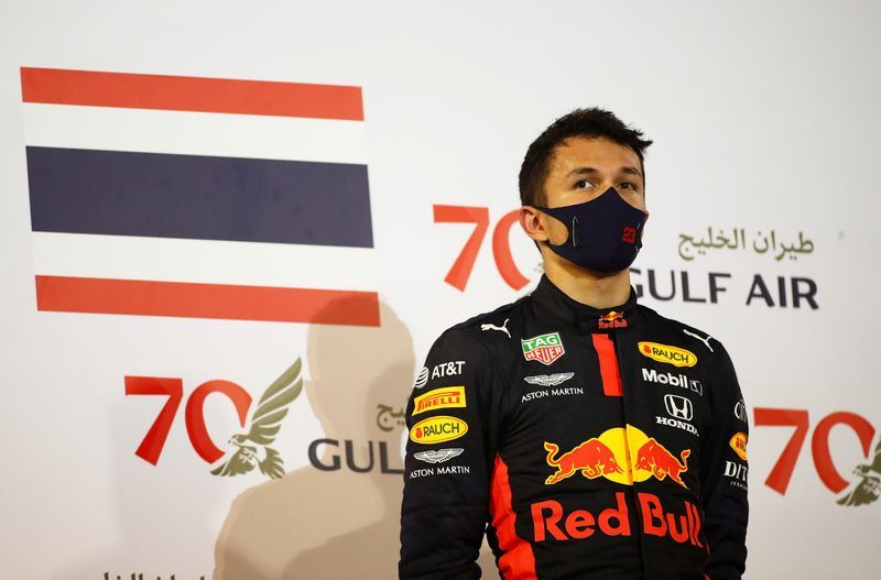Motor racing-Red Bull want to bring Albon back to F1, says Horner