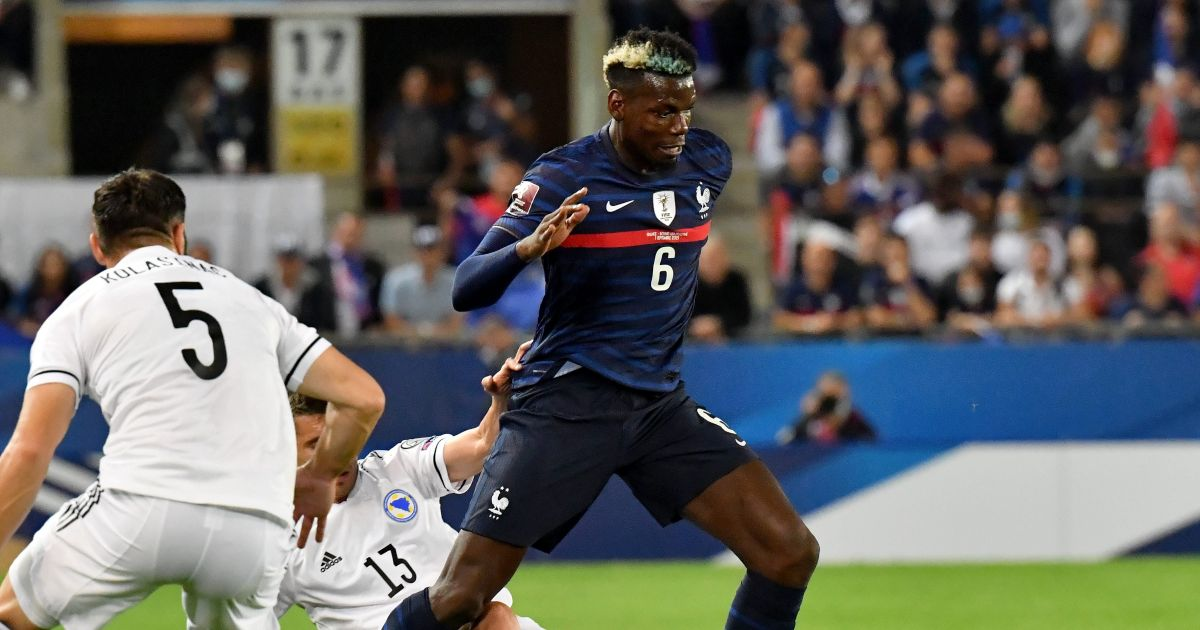 Watch: Man Utd's Paul Pogba picks out Kylian Mbappe with outrageous pass
