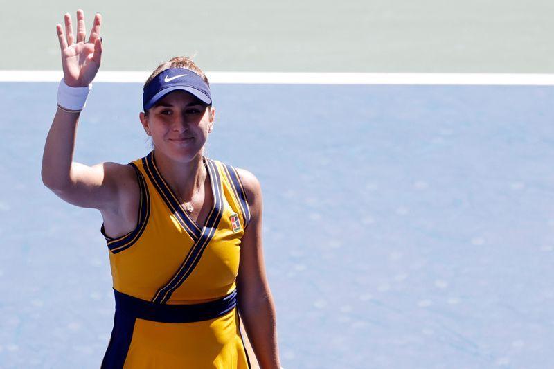 Tennis-Bencic serves up masterclass to reach U.S. Open fourth round