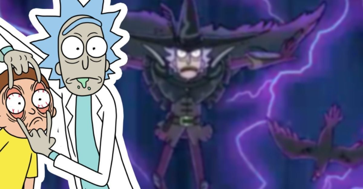 Rick and Morty Readies For Season 5 Finale With Ominous Anime Makeover