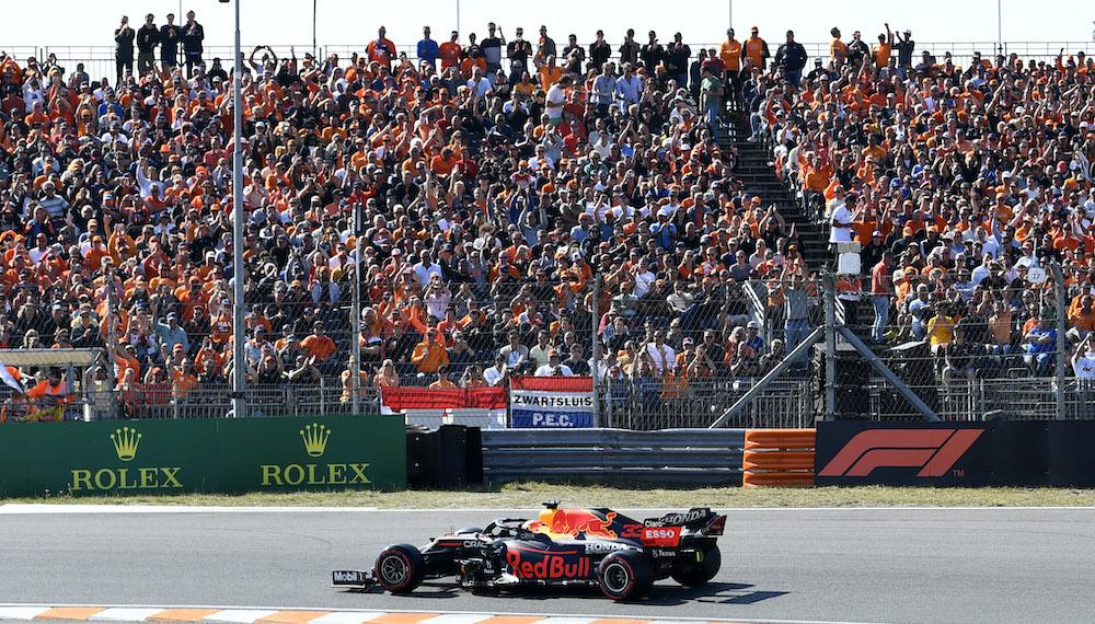 Covid in the rear-view mirror as Zandvoort fans cheer on Verstappen