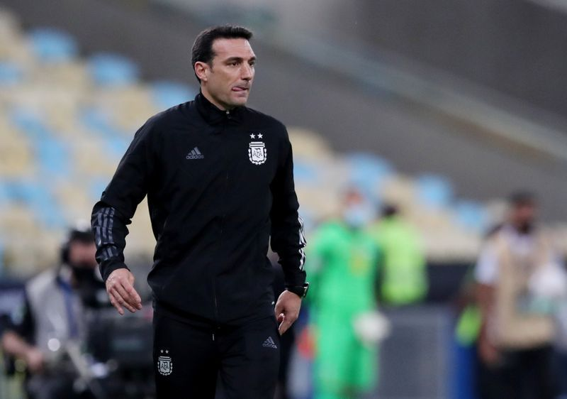 Soccer-Clear rules needed on player release says Argentina coach Scaloni
