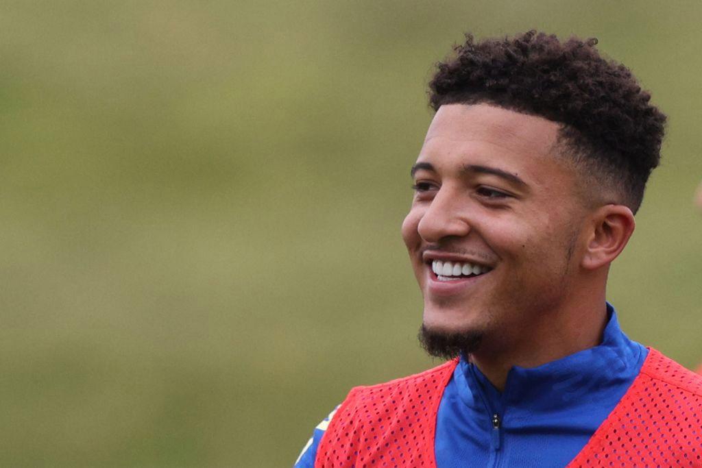 England provide injury update on Man Utd star Jadon Sancho