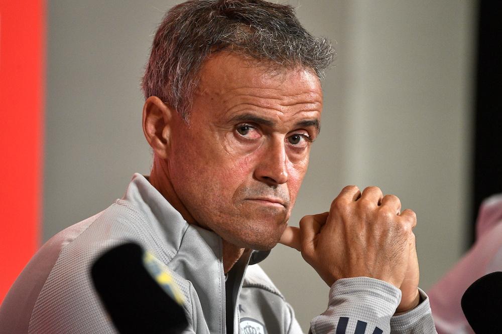 Luis Enrique upbeat about Spain's qualification prospects despite defeat