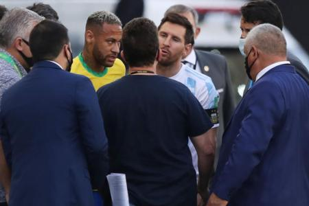 Uproar as Brazil-Argentina clash abandoned following Covid-19 controversy