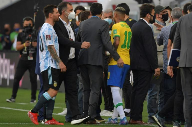Uproar as Brazil v Argentina clash abandoned following Covid controversy