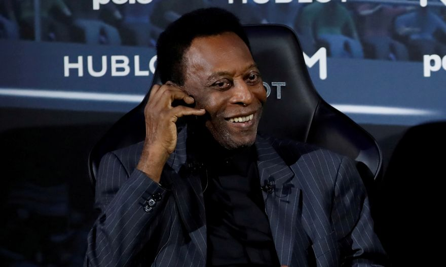 Football: Pele in hospital for six days but no cause for concern, his manager says