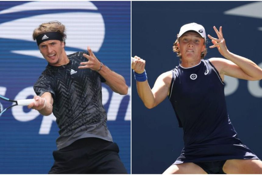 Tennis: Tokyo Olympic champs Zverev, Bencic advance at US Open