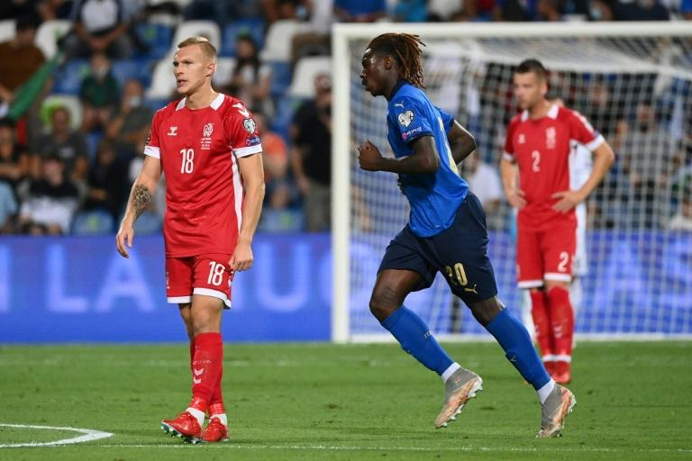 Italy thrash Lithuania, England held by Poland in World Cup qualifying