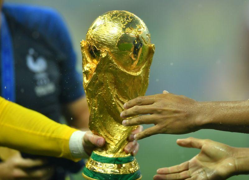 Soccer-European club body opposes biennial World Cup plans