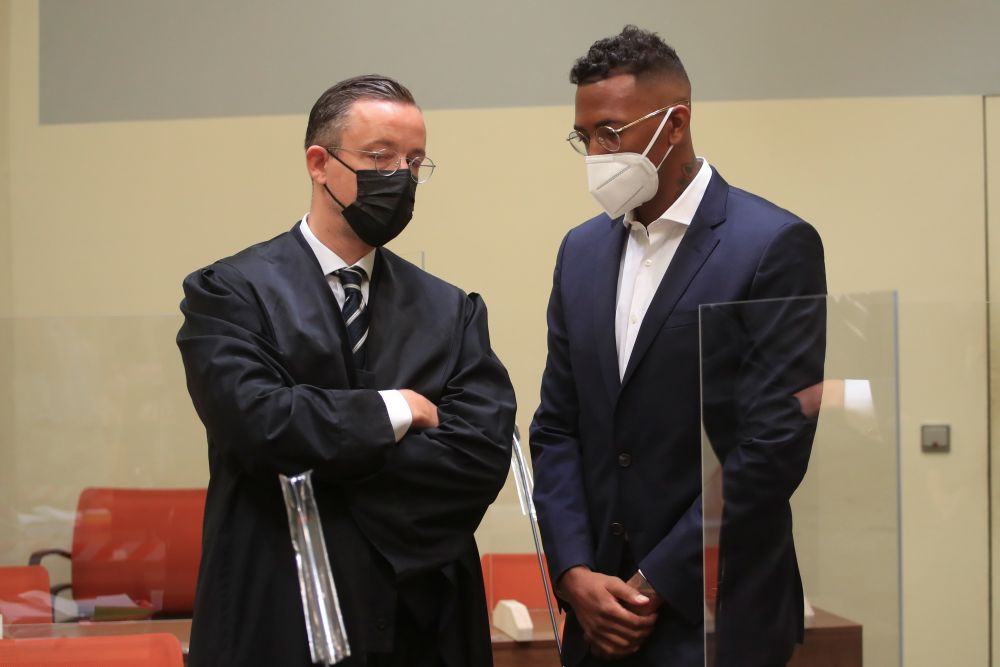 Former Germany defender Boateng guilty of bodily harm, fined €1.8m