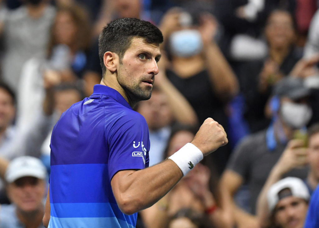 Novak Djokovic reacts to setting up US Open clash against Olympics nemesis Alexander Zverev