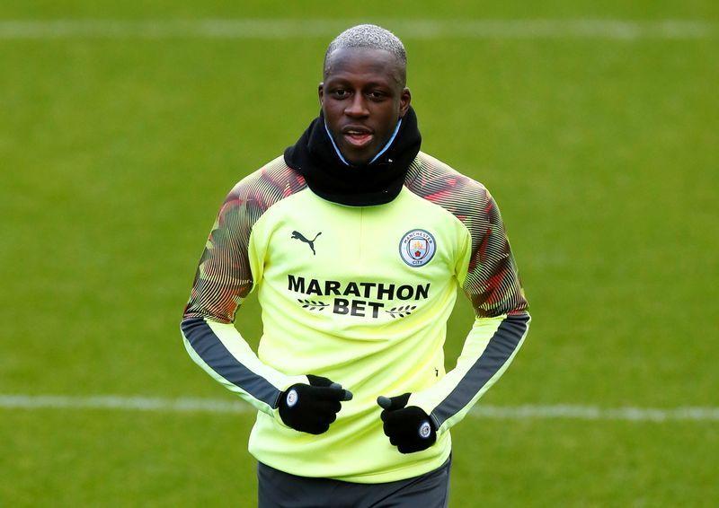 Soccer-Man City defender Mendy remanded in custody until trial in January