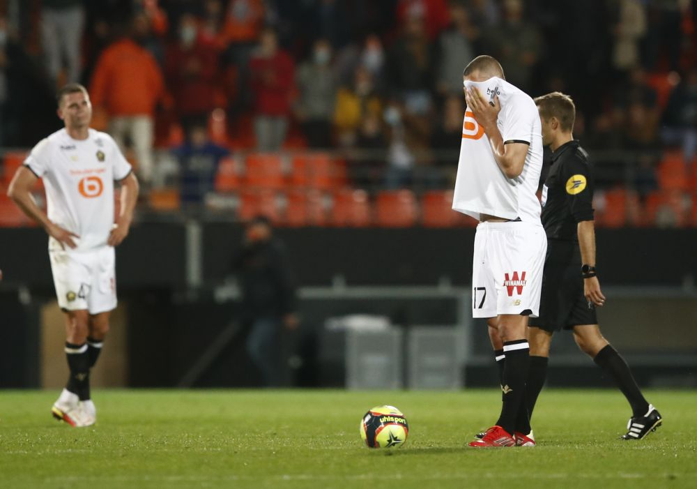 Unimpressive Lille slump to 2-1 loss at Lorient