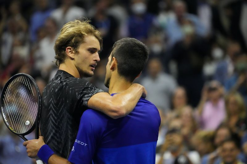 Tennis-After falling short, Zverev tips hat to 'mentally best' Djokovic