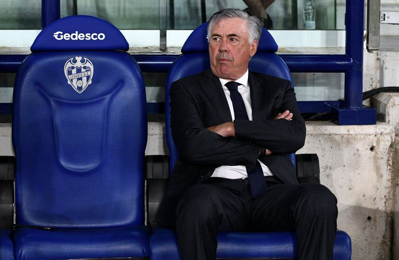 Soccer-Ancelotti hits back at UEFA president following Real criticism