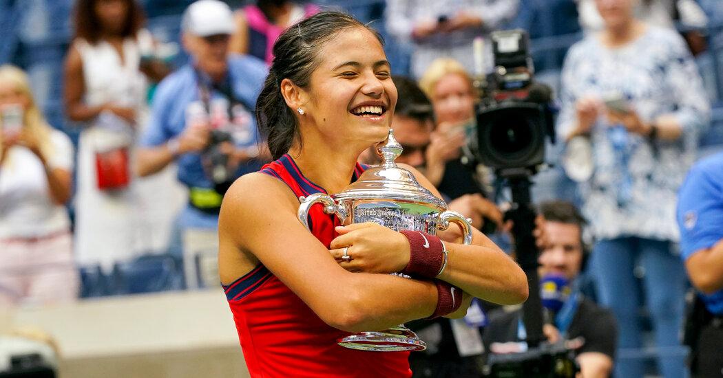 Emma Raducanu wins the U.S. Open to complete a miraculous run.