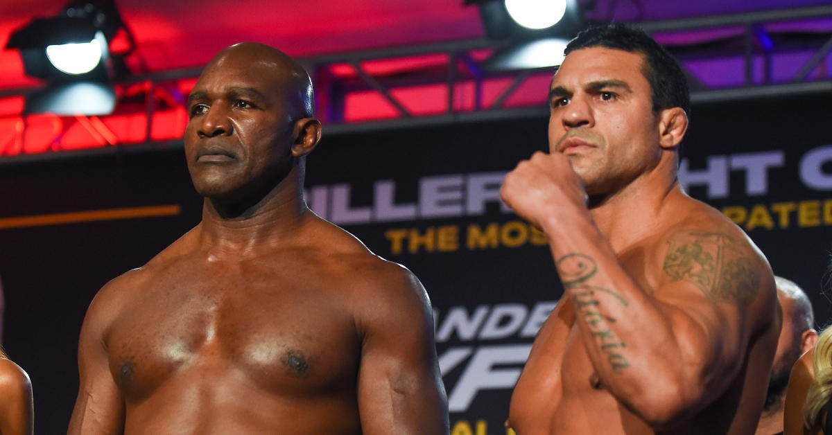 Evander Holyfield Suffers Humiliating Loss to Vitor Belfort in Boxing Return