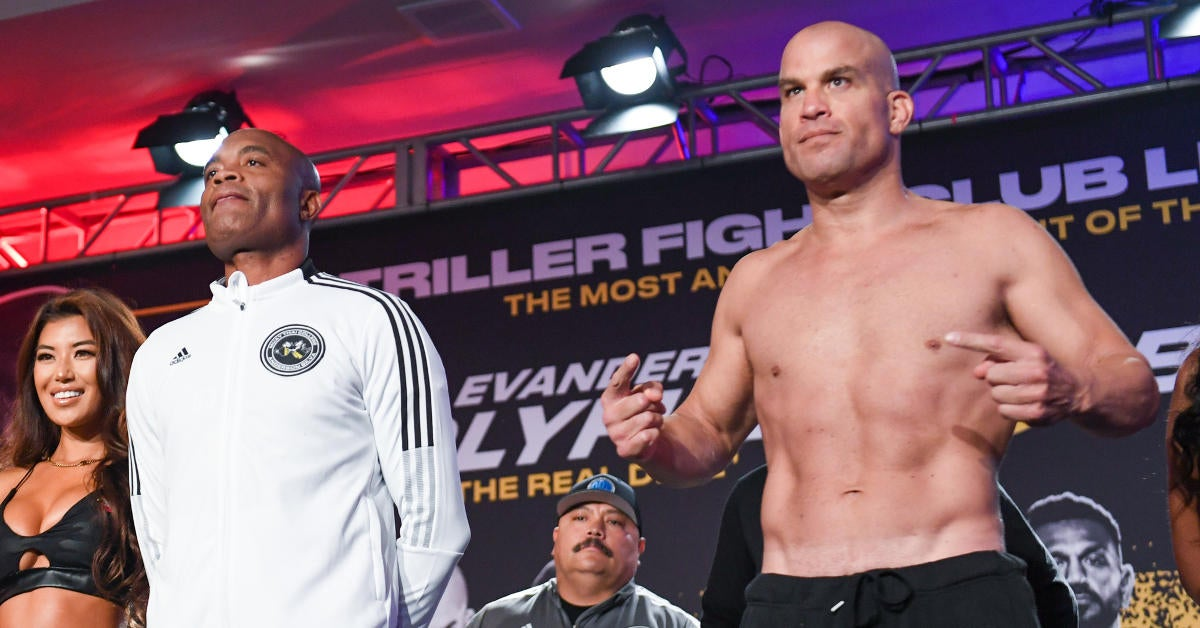 Tito Ortiz Is Getting Clowned on After First Round Knockout From Anderson Silva