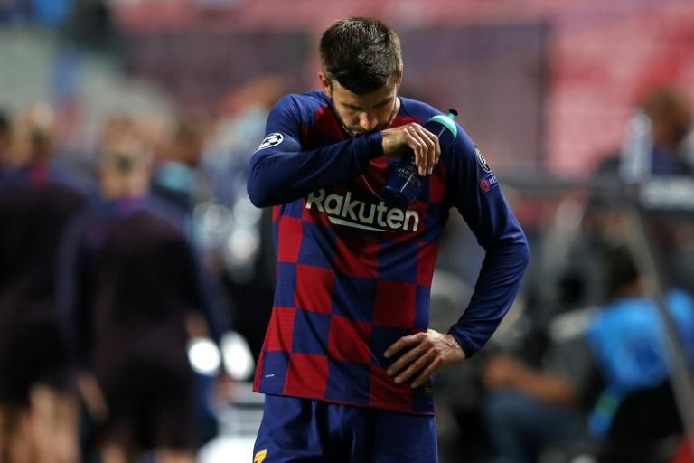 Barcelona face Bayern again, without Messi, after year of upheaval and change
