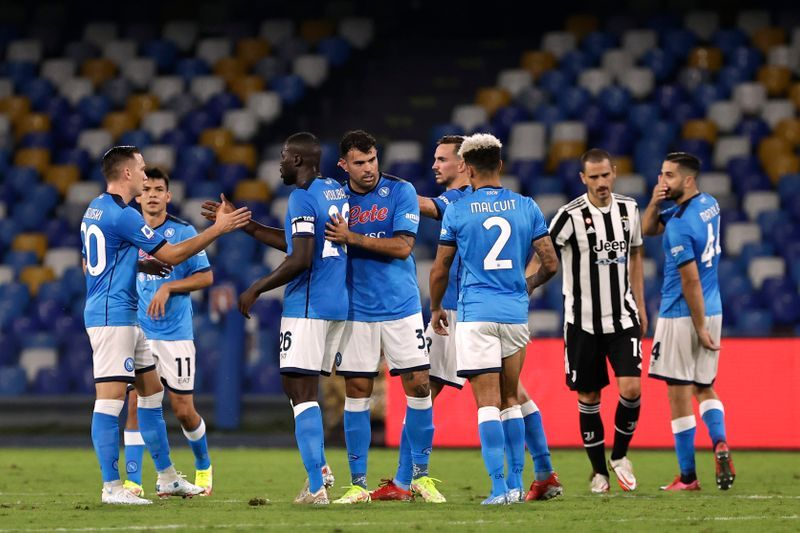 Soccer-Juventus' dreadful start continues as Napoli claim comeback win