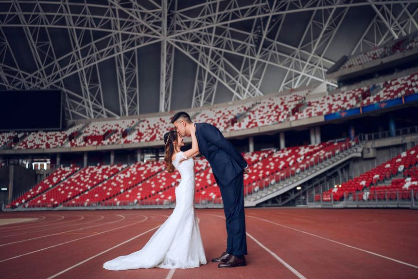 A hub of love for Singapore sports couple Delvin Goh and Chelsea Sim