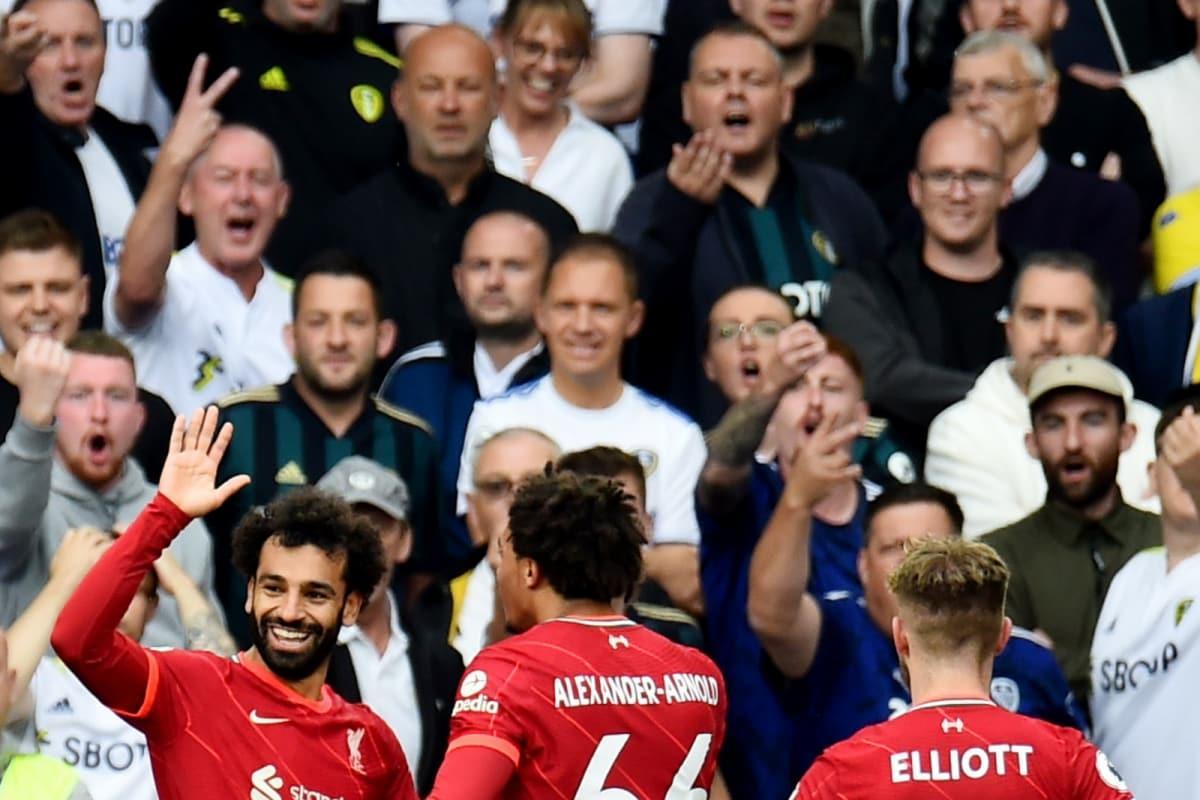 Premier League: Mohamed Salah Stars as Liverpool Win at Leeds as Harvey Elliott Suffers Freak Injury