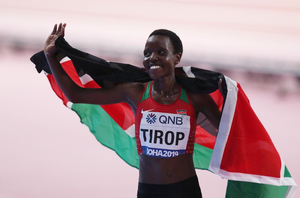 Tirop and Teferi smash 10km and 5km world records