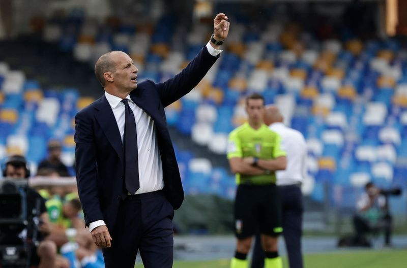 Soccer-Juve not among favourites, but we're in it to win it says Allegri